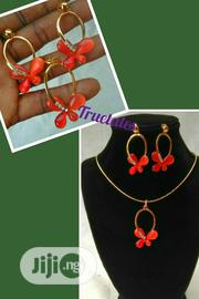 Set of Pendant and Earrings With Necklace | Jewelry for sale in Lagos State, Ikotun/Igando