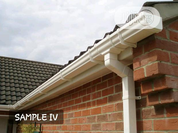 Rain Gutters And Accessories