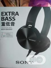 Sony Extra Bass Headset | Headphones for sale in Lagos State, Ikeja