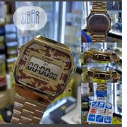 Casio Digital Watch, Gold Chain Camo | Watches for sale in Lagos State, Lagos Mainland