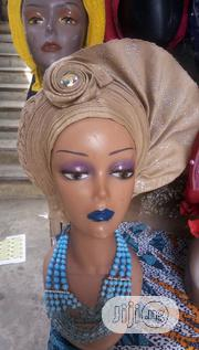 Auto Gele With Paper Stones | Clothing for sale in Abuja (FCT) State, Lokogoma