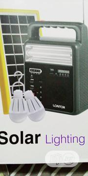 Lontor Solar Lighting Kit With Radio,Mp3,Usb And Bluetooth | Solar Energy for sale in Lagos State, Lagos Mainland