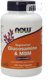 Now Foods Vegetarian Glucosamine And MSM - 120 Vcapsules | Vitamins & Supplements for sale in Lagos State, Ipaja