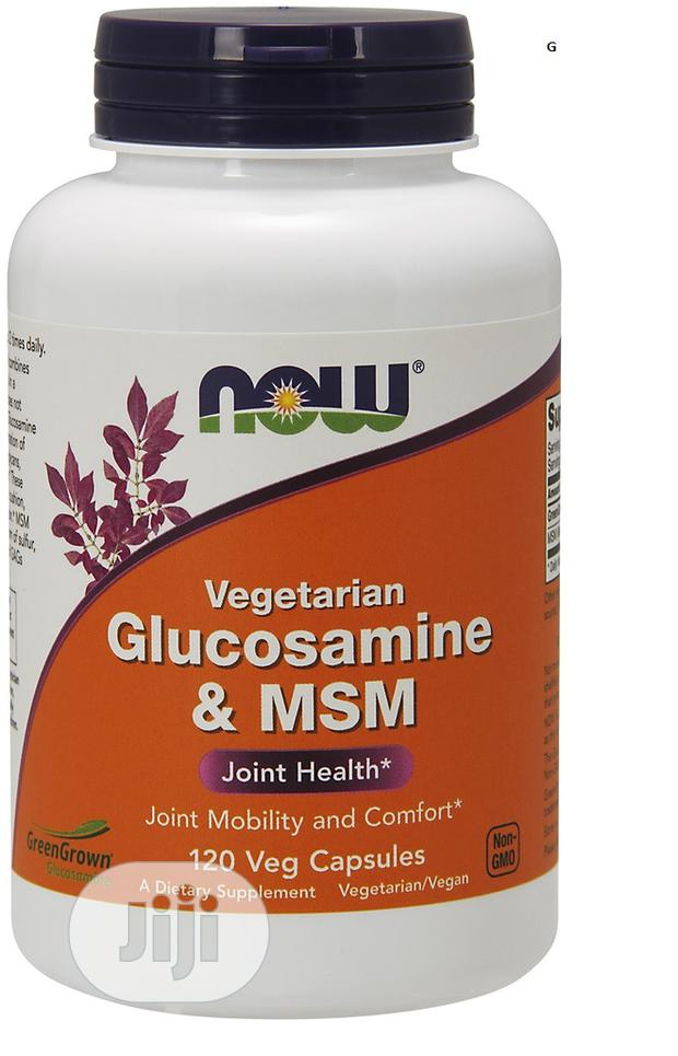 Now Foods Vegetarian Glucosamine And MSM - 120 Vcapsules
