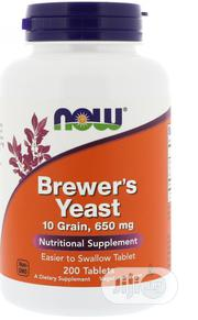 Now Foods, Brewer's Yeast, 200 Tablets | Vitamins & Supplements for sale in Lagos State, Ipaja