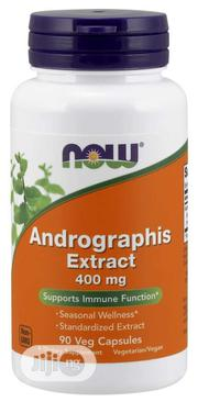 Andrographis Extract 400 Mg Veg Capsules Supports Immune Function | Vitamins & Supplements for sale in Lagos State, Ipaja
