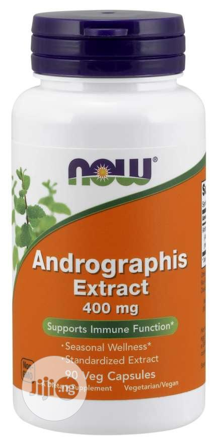 Andrographis Extract 400 Mg Veg Capsules Supports Immune Function
