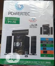 Original POWERTEC Home Theatre With Remote Control | Audio & Music Equipment for sale in Lagos State, Ojo