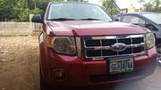 Ford Escape 2009 Hybrid 4WD Red | Cars for sale in Cross River State, Calabar