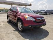Honda CR-V 2007 EX-L 4WD Automatic Red | Cars for sale in Oyo State, Ibadan North