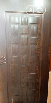 Solid HDF Door With Aluminum Chrome | Doors for sale in Lagos State, Mushin