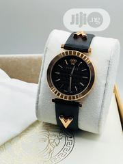 Versace Leather Wrist Watch | Watches for sale in Lagos State, Lagos Island