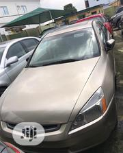 Honda Accord 2005 Sedan LX V6 Automatic Gold | Cars for sale in Lagos State, Ikeja