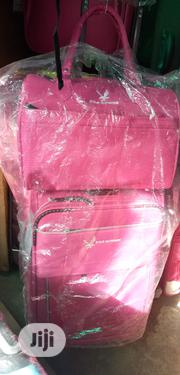 New Classic Ladies Travelling Box with HandBag in Pink | Bags for sale in Lagos State, Ikeja