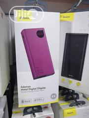 20000mah Power Bank Adaman Metal Digital Display 22.5W Quick Charge | Accessories for Mobile Phones & Tablets for sale in Lagos State, Ikeja