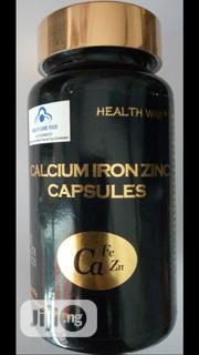 CALCIUM IRON ZINC CAPSULES Permanent Remedy > Arthritis Osteoporosis | Vitamins & Supplements for sale in Lagos State, Surulere