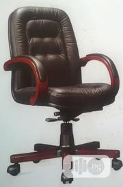 Executive Wooden Arm Office Chair | Furniture for sale in Lagos State, Yaba