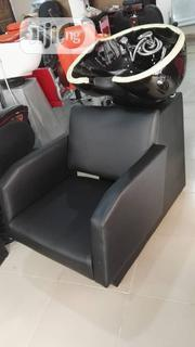Adjustable Salon Chair With Sampo Bowl | Salon Equipment for sale in Lagos State, Lagos Island