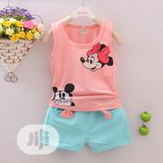 Clothing Sets Mickey Mouse Vest and Short | Children's Clothing for sale in Lagos State, Oshodi-Isolo