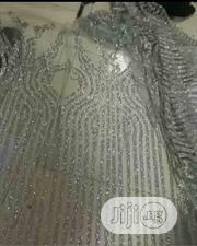 Silver Sequin Lace | Wedding Wear for sale in Rivers State, Port-Harcourt