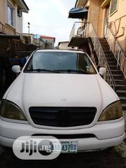 Mercedes-Benz M Class 2001 White   Cars for sale in Lagos State, Mushin