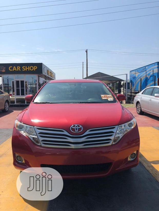Archive: Toyota Venza 2009 Red