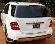 Mercedes-Benz M Class 2009 ML350 AWD 4MATIC White | Cars for sale in Edo State, Esan West
