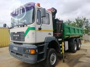European Used Man Dsl 6 X 6 Dump 6tons Selfloader Knuckle Crane Truck | Trucks & Trailers for sale in Lagos State, Amuwo-Odofin