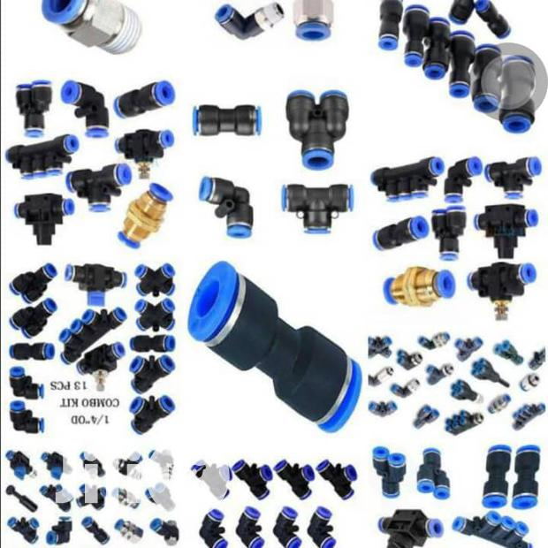 Differnt Types Of Air Pneumatic Niples