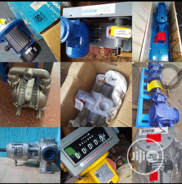 Different Types Of Gas Pumps With Flow Meters