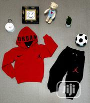Original Jordan Hoodie Track Suits (3yrs to 12yrs) | Children's Clothing for sale in Lagos State, Lagos Mainland