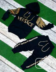 Original Versace Fashion Hoodie Track Suits | Children's Clothing for sale in Lagos State, Lagos Mainland