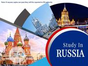 Study In Russia Jan/Feb 2020 | Travel Agents & Tours for sale in Lagos State, Lagos Mainland