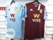 Aston Villa 2019/20 Home/Away Jersey | Clothing for sale in Lagos State, Surulere