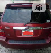 Toyota Highlander 2004 Limited V6 4x4 Red | Cars for sale in Lagos State, Lekki Phase 1
