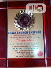 Wooden Award Plaque With Printing | Arts & Crafts for sale in Lagos State, Agboyi/Ketu