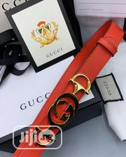 Original Gucci Leather Belt for Men's | Clothing Accessories for sale in Lagos State, Lagos Island