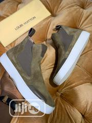 Louis Vuitton Luxury High Top Sneakers (SALES) | Shoes for sale in Lagos State, Lagos Island