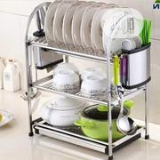 Steel 3layer Dish Rack | Kitchen & Dining for sale in Lagos State, Lagos Island