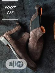 Chelsea Boots, Brown Suede Leather. | Shoes for sale in Oyo State, Ibadan North