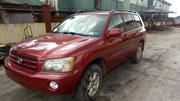 Toyota Highlander 2003 Red | Cars for sale in Lagos State, Ojo