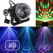 Mini LED Crystal Magic Ball Light Effect Light Disco DJ | Stage Lighting & Effects for sale in Lagos State, Ikeja