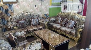 Complete Set of Royal Fabric Sofas