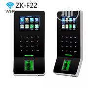 ZK F22 WIFI TCP/IP Fingerprint Time Clock Access Control With Card | Computer Accessories  for sale in Lagos State, Ikeja
