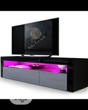 Available TV Stand With LED Lights Remote Control | TV & DVD Equipment for sale in Lagos State, Lekki Phase 1