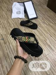 Gucci Pillar High Palm Slippers New | Shoes for sale in Lagos State, Ojo