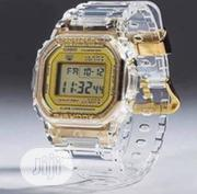 Casio Digital Water Resistant Watch - Transparent | Watches for sale in Lagos State, Lagos Island