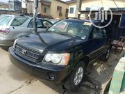 Toyota Highlander 2002 Black | Cars for sale in Lagos State, Isolo