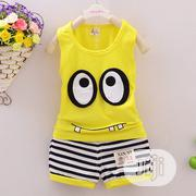 Clothing Sets Children Vest + Striped Pants | Children's Clothing for sale in Lagos State, Oshodi-Isolo