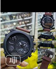 Diesel Chronograph Leather Watch | Watches for sale in Lagos State, Lagos Island